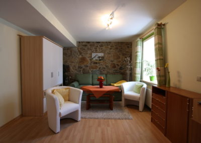 Familienurlaub in Görlitz gemütlicher Wohnbereich