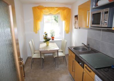 Familienurlaub in Görlitz Wohnküche
